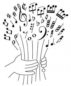 notes-de-musique-en-bouquet