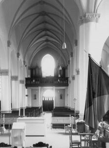 L'orgue au jubé en 1976 - Photo IRPA